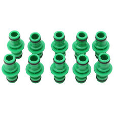 10X One Way Garden Hose Pipe Water Connector Joiner Quick Fix Coupler 1/2""