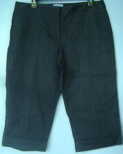 Women's Simply Vera Vera Wang Navy Blue 2 Pocket Casual Chino Shorts Capri's 12