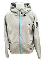 NEW Vintage NIKE Sportswear NSW NIKE AIR Mens Hoodie Jacket Grey M