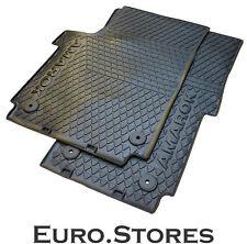 VW Amarok Rubber Floor Mats Set 2H1061501041 Black LHD Genuine New