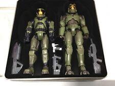 halo 2 master chief figures Evolution set exclusive collectors tin joyride SDCC
