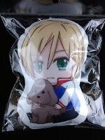 Yuri on Ice Marshmallow Cushion Mascot Strap Yuri Plisetsky Yurio 2 New