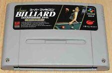 Super Famicom: billar Championship Pool