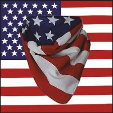 American Stars and Stripes U S A Flag Bandana 100% cotton
