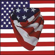 American Estrellas y Rayas Bandera De U S A Bandana 100% algodón
