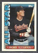 1990 Topps Baseball - TV All-Stars - #24 - Mickey Tettleton - Baltimore Orioles