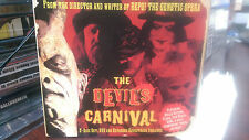 The Devil's Carnival CD/DVD 2 Discs Horror Freak Show (Saw Skinny Puppy Slipknot