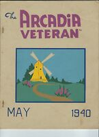MC-237 - The Arcadia Veteran May 1940, Hope Valley RI, CCC Civilian Conserv