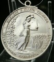 Silver Brewers & Allied Traders Medal, Mappin & Webb, Birmingham 1928, (CASED)