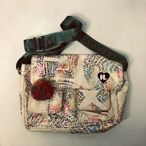 """Harajuku Lovers """"A Fatal Attraction to Cuteness"""" Printed Messenger Bag"""