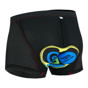 Upgrade Cycling Shorts Cycling Underwear 5D Gel Pad Shockproof Bike Underpants