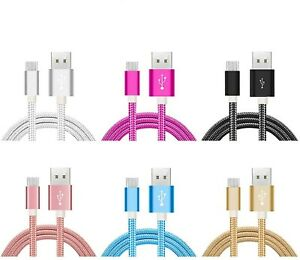 Câble Type C Micro USB Nylon Charge Synchro Samsung HUAWEI Sony LG Xiaomi Nokia