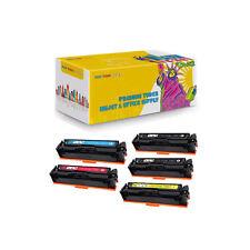 Set + BK Compatible CF500A - CF503A Toner for HP LaserJet Pro M254nw M254dw M280
