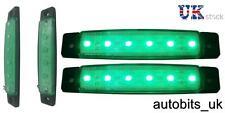 Set di 2 24V LED VERDE Lampadina Luce posizione laterale freccia AUTOBUS CAMION