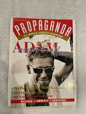 U2 Propaganda Magazine Issue 20 Summer/Fall 1994 With Original Mailing Envelope