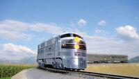 Spur N - Zug Silver Streak Zephyr mit DCC + Innenbeleuchtung -- 106-0902 NEU