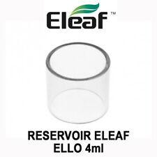 Réservoir / Tube Pyrex ELEAF ELLO - 4ML - pour ELLO 4ml de ELEAF - AUTHENTIQUE