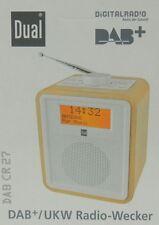 Digitalradıo Radiowecker DAB Radio RDS Dual DAB CR27 Holzgehäuse B Ware