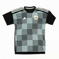 Adidas Climalite Men's Jersey Parley Pre-Game Argentina AFA Blue Black Sz Small