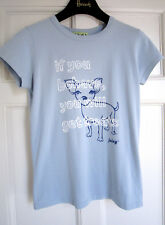 Juicy Couture women's T-shirt with dog, size S-M. Mint. 100% auth.