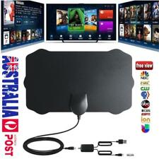 AU! 120 Miles Indoor Digital HD TV Antenna with Signal Amplifier Booster VHF UHF