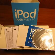 Nice Original box only Rare Apple iPod classic 4th Generation White (40 GB)