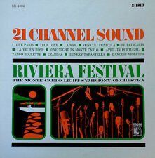 MONTE CARLO LIGHT SYMPHONY - RIVIERA FESTIVAL - MGM LP - 21 CHANNEL SOUND