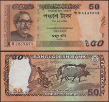 Bangladesh PNew B351.5 50 Taka 2019 Orange @ EBS
