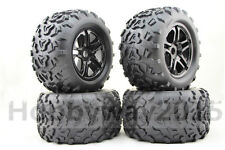 4Pcs 1/8 Monster Truck Tire Set Tyre For HPI T-MAXX 3.8 REVO Traxxas E-MAXX MGT