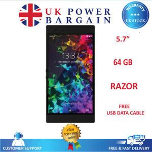 "Razer Phone 2 64GB 5.7"" 8GB RAM 12MP Unlocked Android NFC Smartphone - Black"