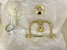 KOHLER K-208-PB Antique Towel Ring, Vibrant Polished Brass