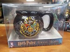 New - Harry Potter Ceramic 3D Mug - Hogwarts Crest