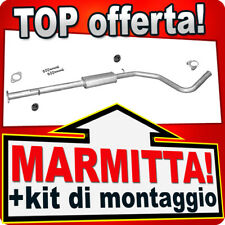 Centrale di Scarico FIAT BRAVO II 1.4 16V T-JET dal 2007 Marmitta HJE