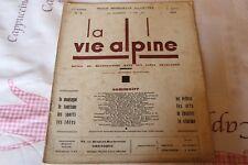LA VIE ALPINE 5 revue du régionalisme dans les alpe française 1928