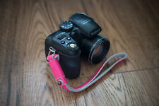 PINK GENUINE LEATHER Camera Wrist Strap - Vintage strap for all camera