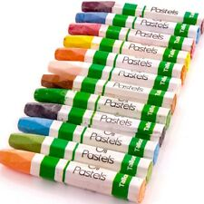12Pc Artist Oil Pastel Set LONG LASTING COLOUR Drawing Sketch Colouring Crayons