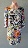 💜 ZARA Long Sleeve Shift Dress Multicolor Size S Buy7=FreePost L759