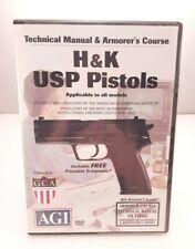 H&K Usp Pistols Gunsmithing Dvd Agi Video Gunsmith