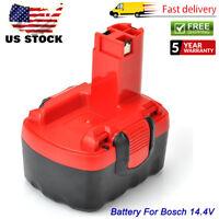 14.4 Volt for Bosch BAT038 BAT040 BAT041 BAT140 Ni-CD Battery 33614 13614 32614