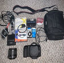 Canon EOS 70D Digital SLR Camera 20.2MP With Lens 18-55mm with Charger