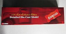 Corgi Budweiser PCC Streetcar 1/50 Scale 55022 2002 Collector's Edition MIB