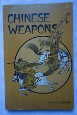 Chinese Weapons by E. T. Werner (1972, Paperback)
