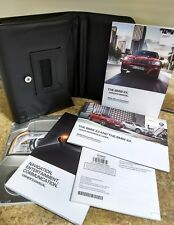 2015 15 BMW X4 Owners Manual, includes Navegation Manual