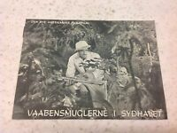 Isle of Destiny William Gargan Wallace Ford June Lang 1940 Danish Movie Program