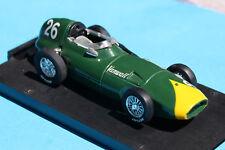 miniature F1 Vanwall 1958 Stirling Moss Brumm 1/43e