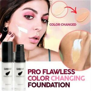 Qibest Magic Colour Changing Foundation Makeup Changes Skin Tone concealer