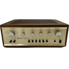 Dynaco Pat-5 Solid State Preamplifier with Wooden Box Made in Usa Tested Works