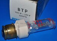LAMPADA BTP 120 V 750 W P28S PER PROIETTORE 16 mm (BOLEX S 321 - Philips EL5000)