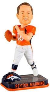 Peyton Manning Denver Broncos Springy Logo FOCO 14 Denver Broncos Bobblehead