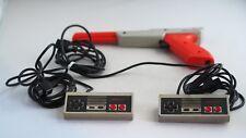 NES Nintendo NES Duck Hunt Controller Gun 2 x Original Controllers